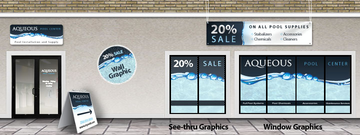 Store Front Graphics - We do it all at theSignPad - Colwoods newest and best sign shop!