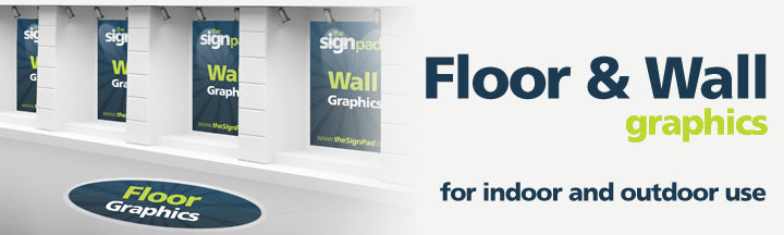 Floor &amp; Wall Graphics by theSignPad in Victoria, BC