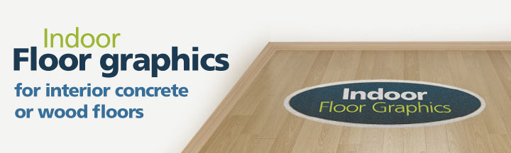 Indoor floor graphics by theSignPad in Victoria, BC