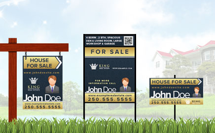 Real Estate Signs Victoria BC
