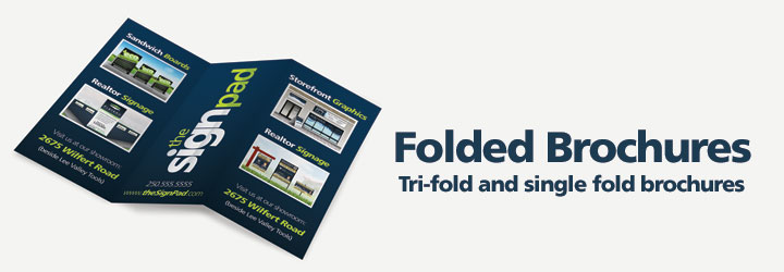 Brochures, tri-fold brochures by theSignPad in Langford, BC