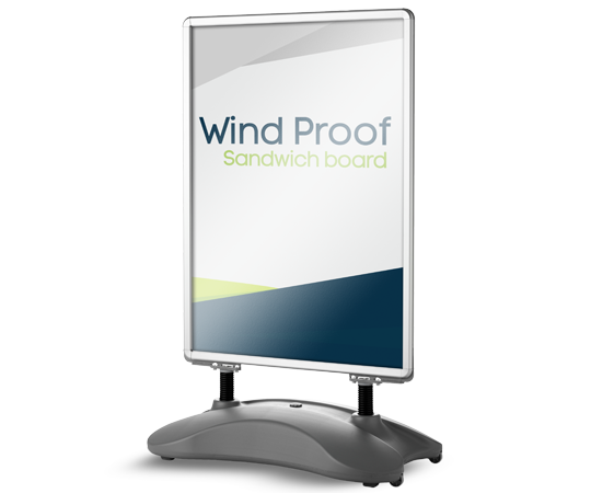 Windproof Sandwich Boards Victoria