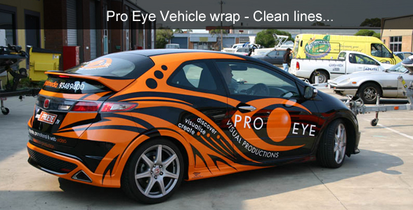 Pro Eye Vehicle Wrap