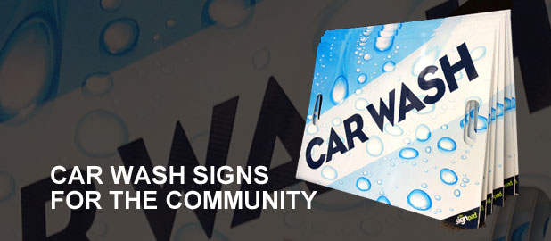 Free Car Wash Signs