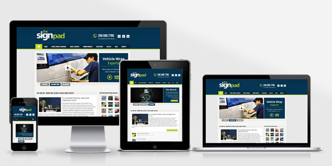 The Sign Pad Version 2 &#8211; New website launched!