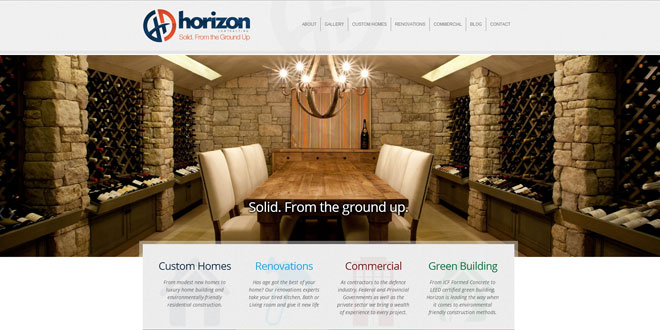 horizon_website_launch