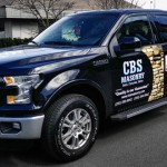 The new 2015 F150 and CBS Masonry