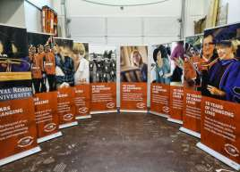 Royal Roads Roll-up Banners