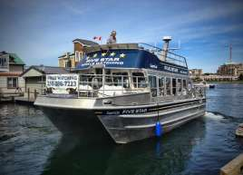 Five Star Whale Watching Boat Wraps