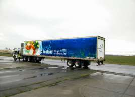 2015 Semi-Trailer Wraps for Thrifty Foods -