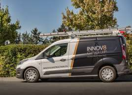 Innov8 Group Partial Van Wrap
