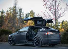 Tesla Model X Car Wrap