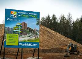 Westhills Development Sign