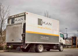 New logo, branding and Cubevan Graphics for Ikan Installations