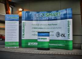 Eco Smart Tradeshow Display