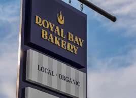 Royal Bay Bakery Sign