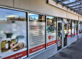 Heart Pharmacy Window Graphics