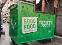 Thrifty Foods Demo Cart Wrap