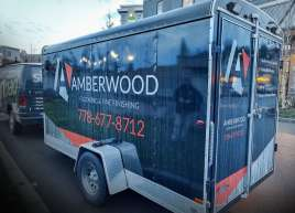 Full Trailer Wrap for Amberwood Flooring