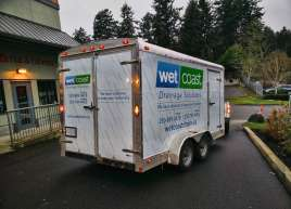 Full Trailer Wrap for Wet Coast Drainage Solutions