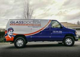 Glass Doctor Van Wrap