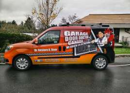 Garage Door Doctor Vehicle Wrap