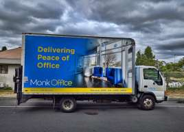 Cube Wrap on a new fleet addition for Monk Office