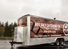 Full Trailer Wrap for Big Sky Catering