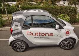 Full Smar Car Wraps for Duttons Real Estate