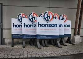 Horizon Construction Signs