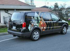 Full Vehicle Wrap for Bear Mountain Resort