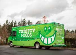 Full Wrap on the Thriftys Food Truck
