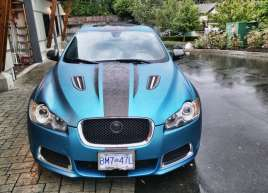 Jaguar Brushed Metallic Racing Stripes