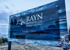 Custom Development Signs for RAYN Properties
