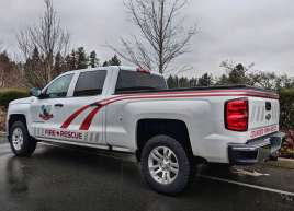 Colwood Fire Truck Wrap