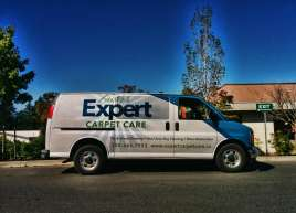 Expet Carpet Care Van Wrap