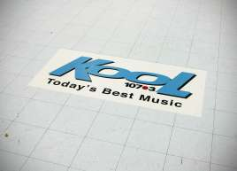 Kool FM Floor Graphics