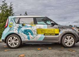 Half Wrap on a Kia Soul for Moon Under Water Brewery