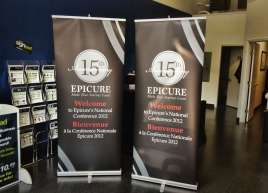 Epicure Roll-up Banner