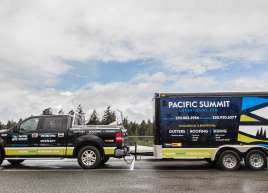 Truck and Trailer wrap for Pacific Summit Exteriours