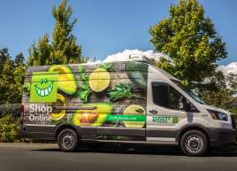 Thrifty Foods Van Wrap