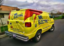 Mr. Electric Van Wrap