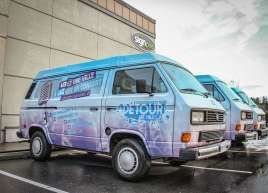 VW Bus Wraps an for Air Miles Campaign