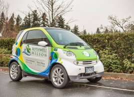 Full Smart Car wrap for Rothwell Wilson