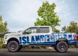 Island Ford F150 Metallic Wrap