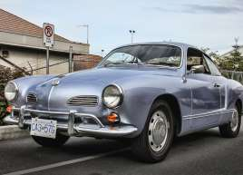Custom Quick Silver Wrap on a VW Karmann Ghia