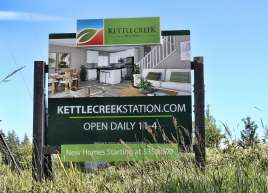 Kettle Creek Construction Sign