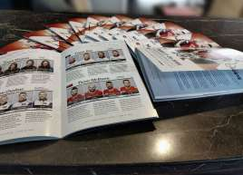Booklets for the Grand Slam of Curling event