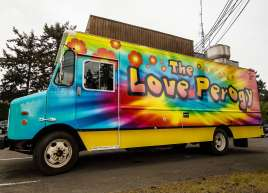 The Love Perogy Food Truck Wrap