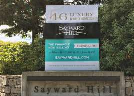 Sayward Sign